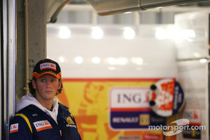 Romain Grosjean, Renault F1 Team, Test driver