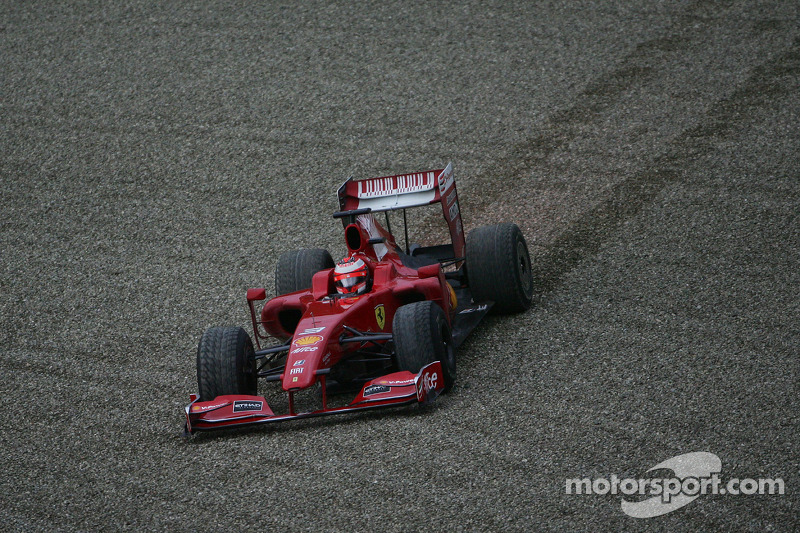 Kimi Raikkonen, Scuderia Ferrari in the new Ferrari F60