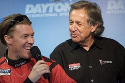 GAINSCO Bob Stallings Racing press conference: Alex Gurney and Bob Stallings