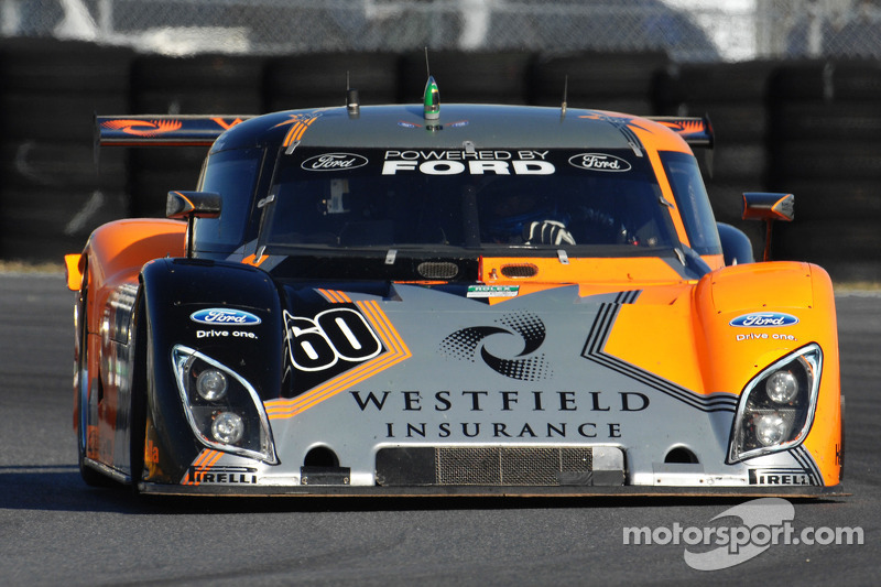 #60 Michael Shank Racing Ford Riley: Colin Braun, Ryan Hunter-Reay, Oswaldo Negri, Mark Patterson