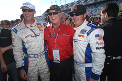 Darren Law, Bob Bondurant and Buddy Rice