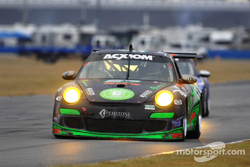 #67 TRG Porsche GT3: Jorg Bergmeister, Andy Lally, Patrick Long, Justin Marks, RJ Valentine
