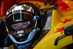 Adderly Fong, driver of A1 Team China