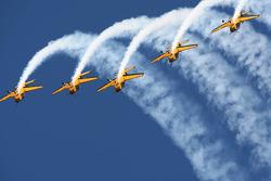 Acrobatic display