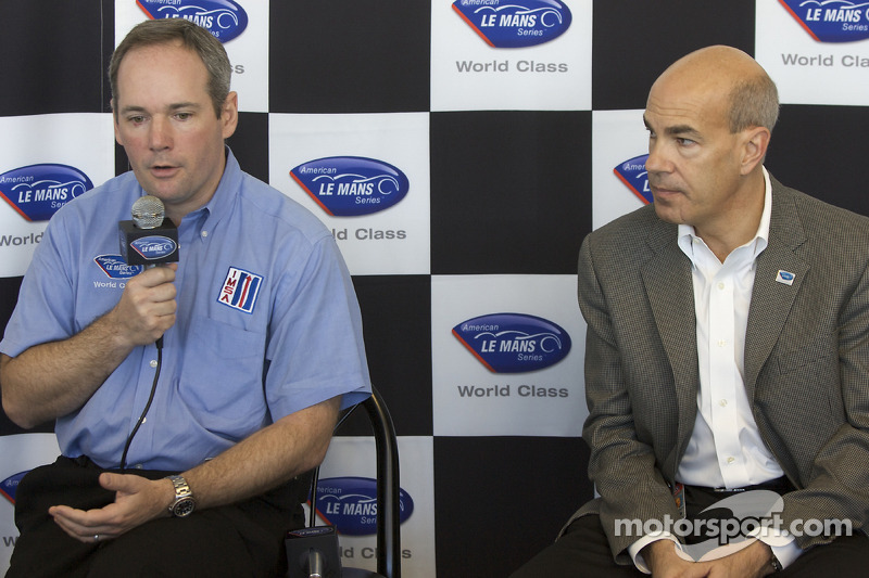 American Le Mans Series press conference: American Le Mans Series Chief Operating Officer Tim Mayer and CEO Scott Atherton