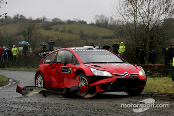 Chris Atkinson and Stéphane Prevot, Citroen C4 WRC, Citroen Junior Team