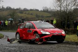 Chris Atkinson and Stéphane Prevot, Citroen C4 WRC, Citroen Junior Team