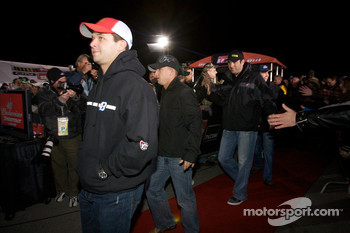 Drivers enter the stage: Reed Sorenson, Richard Petty Motorsports Dodge