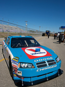 A special paint scheme on the Richard Petty Motorsports Valvoline Dodge