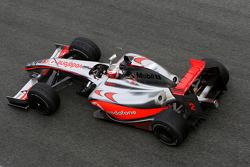 Heikki Kovalainen, McLaren Mercedes, MP4-24- Formula 1 Testing, Jerez