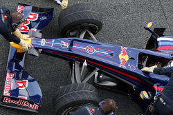 Sebastian Vettel, Red Bull Racing, RB5, detail