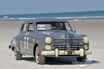 Living legends of auto racing beach parade: Studebaker