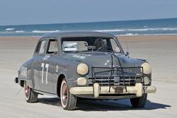 Living legends of auto racing beach parade: Studebaker