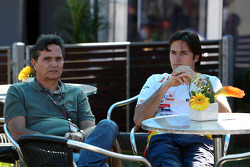 Nelson Piquet and Nelson A. Piquet, Renault F1 Team