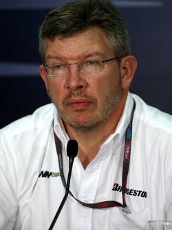 FIA press conference: Ross Brawn Brawn GP Team Principal