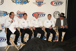 Dennis Reinbold, Robbie Buhl, John Andretti and Richard Petty