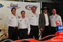 Robbie Buhl, John Andretti, Dennis Reinbold, Richard Petty, and Todd Whitworth