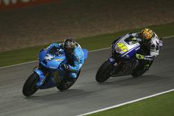 Chris Vermeulen, Rizla Suzuki MotoGP, Valentino Rossi, Fiat Yamaha Team