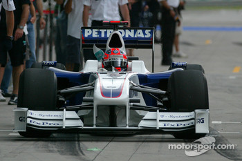 Robert Kubica, BMW Sauber