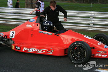 Josh Hill, son of Damon, grandson of Graham, starts the new season in the 2009 British Formula Ford Championship