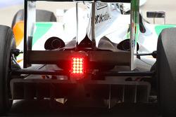 Diffuser, back of a Force India VJM-02