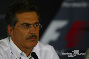 FIA press conference: Dr. Mario Theissen, BMW Sauber F1 Team, BMW Motorsport Director