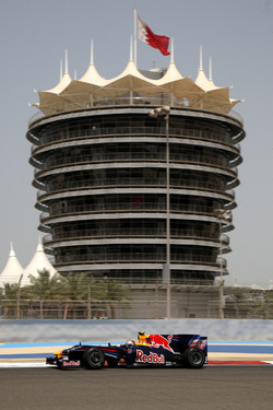Sebastian Vettel, Red Bull Racing at Bahrain 2010