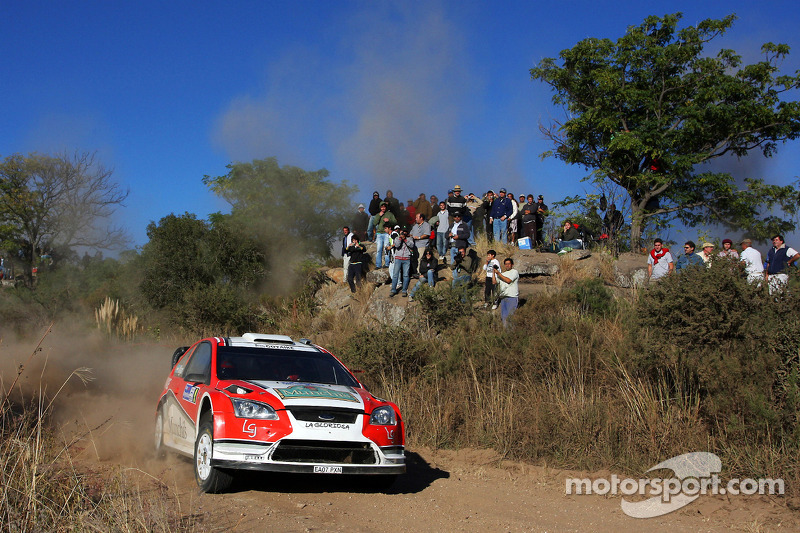 Federico Villagra and Jorge Perez Companc, Ford Focus RS WRC08
