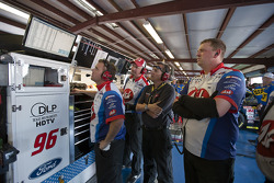 Hall of Fame Racing Ford crew members