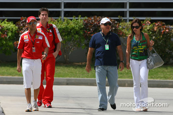 Felipe Massa, Scuderia Ferrari and his family