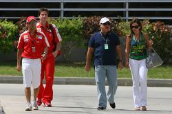 Felipe Massa, Scuderia Ferrari and his family
