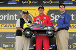 Pole winner Graham Rahal, Newman/Haas/Lanigan Racing
