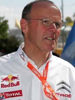 Citroen Total World Rally Team boss Olivier Quesnel