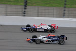 Dan Wheldon, Panther Racing runs with Mario Moraes, KV Racing Technology