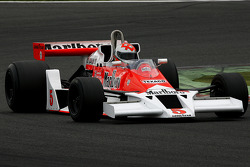 #5 Bobby Verdon-Roe (GB) McLaren M23-05, Scuderia BVR (formerly driven by James Hunt and Patrik Tambay, 1973-77)