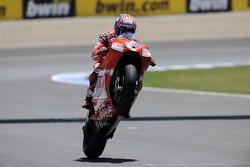 Third place Casey Stoner, Ducati Marlboro Team