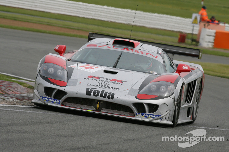 #18 K plus K Motorsport Saleen S7R: Adam Lacko, Mario Dominguez