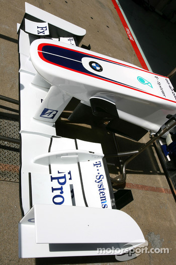 BMW Sauber F1 Team front wing