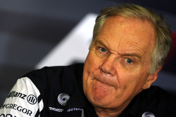 FIA press conference: Patrick Head, Williams F1 Team, Director of Engineering