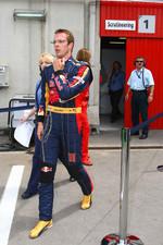 Sébastien Bourdais, Scuderia Toro Rosso after being out in Q1