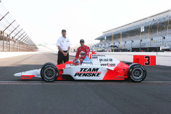 Tim Cindric, Helio Castroneves, Team Penske