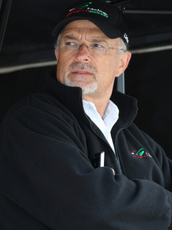 Andretti Green Racing team co-owner Kim Green