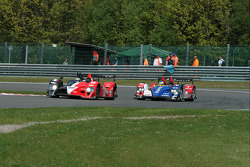 #12 Signature Plus Courage-Oreca LC70 - Judd: Pierre Ragues, Franck Mailleux and #10 Team Oreca Matmut - AIM Courage-Oreca LC70 - AIM: Stéphane Ortelli, Bruno Senna
