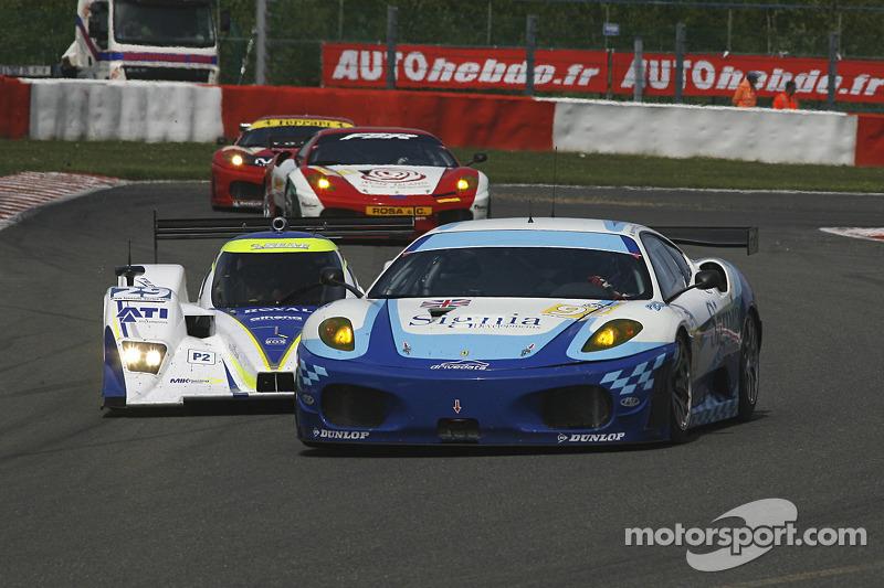 #96 Virgo Motorsport Ferrari F430 GT: Michael McInerney, Sean McInerney, Michael Vergers