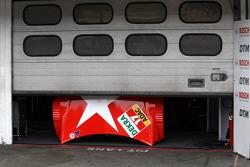 Garage of Mathias Lauda, Mücke Motorsport, AMG Mercedes C-Klasse