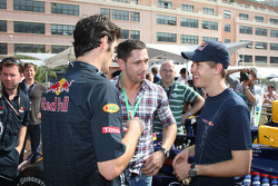 Mark Webber, Red Bull Racing, Sebastian Vettel, Red Bull Racing with Felix Sturm Boxer