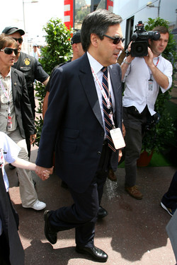 Francois Fillon, French Prime Minister at Monaco, 2009