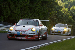 #19 Mamerow Racing Porsche 911 GT3 Cup S: Chris Mamerow, Lance David Arnold, Marino Franchitti