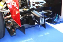 Renault rear diffuser