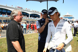 Keke Rosberg with his son Nico Rosberg, Williams F1 Team
